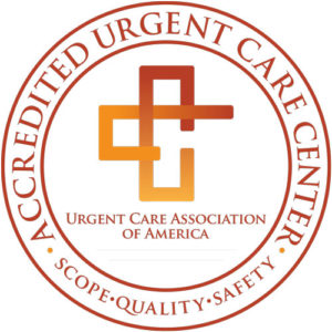 Accredited By The Urgent Care Association (UCA), recognized as the largest, most notable trade and professional association in urgent care. UCA exists to advance and distinguish the role of urgent care and on-demand medicine as a healthcare destination and support the ongoing success of our membership through education, advocacy, community awareness, benchmarking and promoting standards of excellence